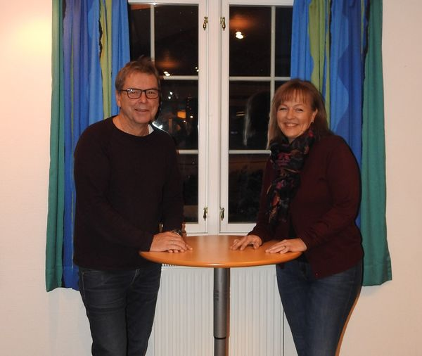 Frede Christensen og Marita Billing