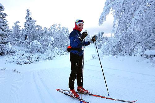 Juniortalentet Ida Vang har NM på hjemmebane på Savalen som hovedmål denne sesongen. Foto: Privat.