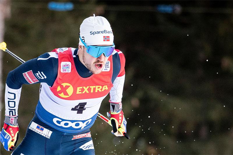 Sindre Bjørnestad Skar er første nordmann ut i lørdagens renn. Foto: Modica/NordicFocus.