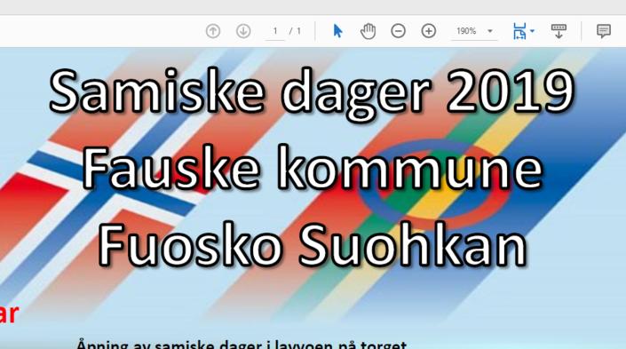 Samiske dager utklipp 2019