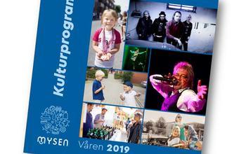 Kulturprogrammets forside vår 2019