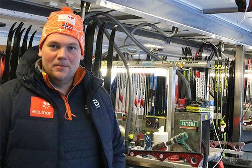Trond Wiggo Hagen er sjefsmører på Junior- og U23-VM i 2019. Foto: Erik Borg.