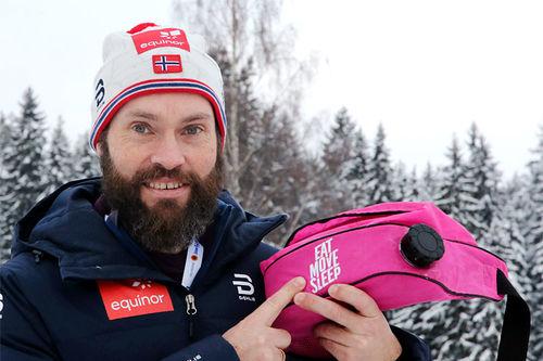 Som forrige sesong er det den tidligere toppløperen Remi Andersen som rådgir og følger opp utøverne på junior- og rekruttlandslaget medisinsk. Foto: Erik Borg.