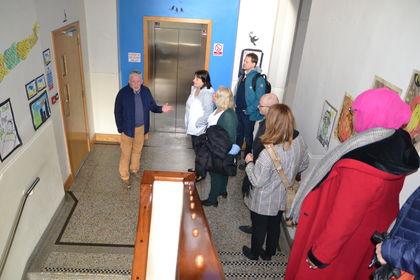 FUG i trapp på skolebesøk Dublin
