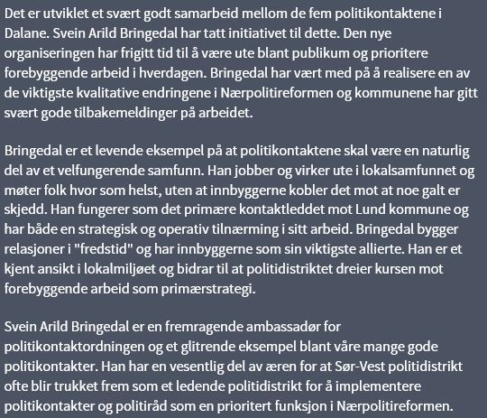 Tekst Svein Arild