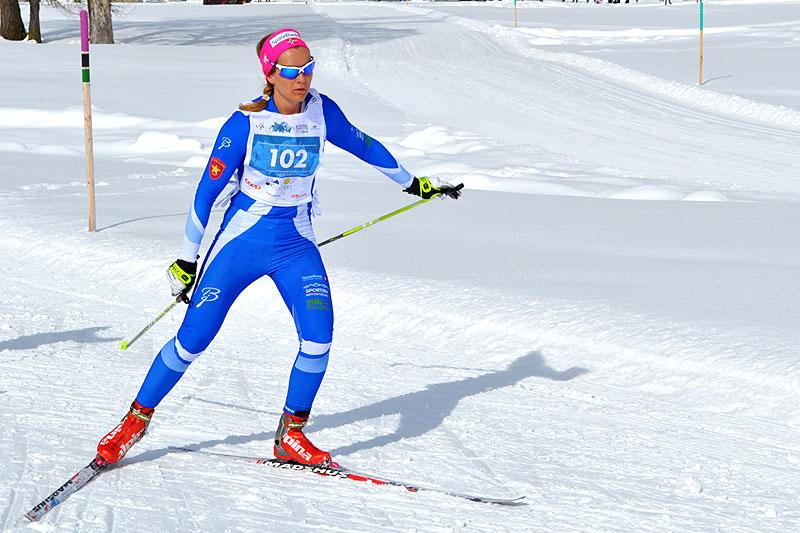 Eli Anne Bakkene Løksa ble gullvinner i yngste klasse for to år siden. Hun går på hjemmebane, fortsatt i klassen 30–34 år (foto: MWC).