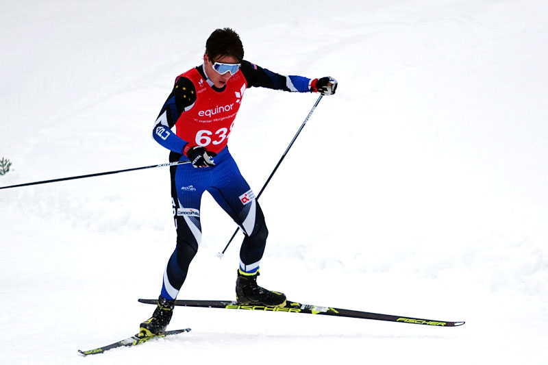 Luke Jager i Norgescup Junior Åsen 2019. Foto: Runar Moseby.