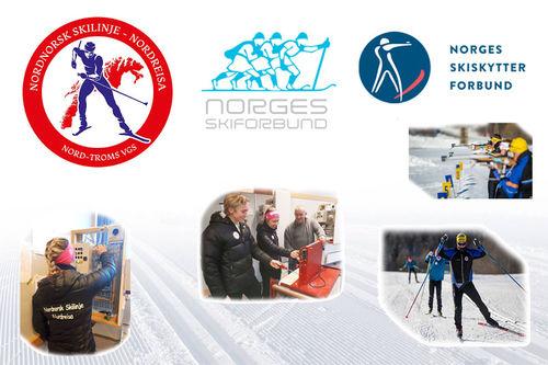 Nordnorsk skilinje ved Nord-Troms videregående skole.
