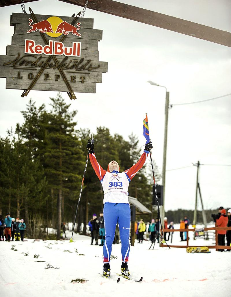 Jan Erik Länta i Nordenskiöldsloppet. Foto: Adam Klingeteg / Red Bull Content Pool.