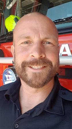 Profilbilde av han som er ansatt som ny brannsjef i Setesdal IKS fra og med sommeren 2019