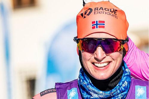 Kari Vikhagen Gjeitnes var best av samtlige norske damer i Vasan 2019. Foto: Modica/NordicFocus.