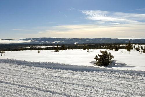 Dølfjellet et par dager før Birkebeinerrennet 2019. Foto: Magnus Kolstad.