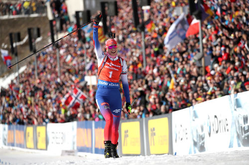 Inn til seier i Holmenkollen. Foto: Manzoni/NordicFocus.
