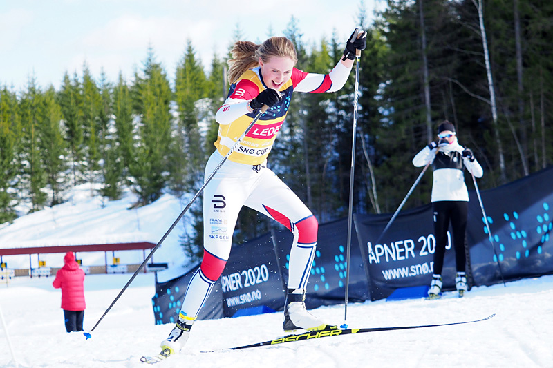 Tuva Anine Brusveen-Jensen. Foto: Morten Dybdahl / Snø Oslo.