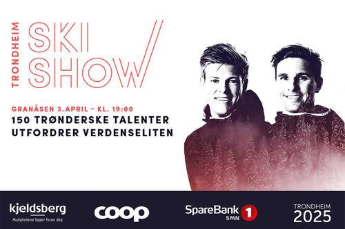 Trondheim Skishow - Johannes Høsflot Klæbo og Didrik Tønseth.