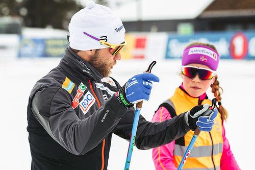 Fra Ski Camp Sundby 2018 med Martin Johnsrud Sundby. Foto: Nicolai Vedvik.