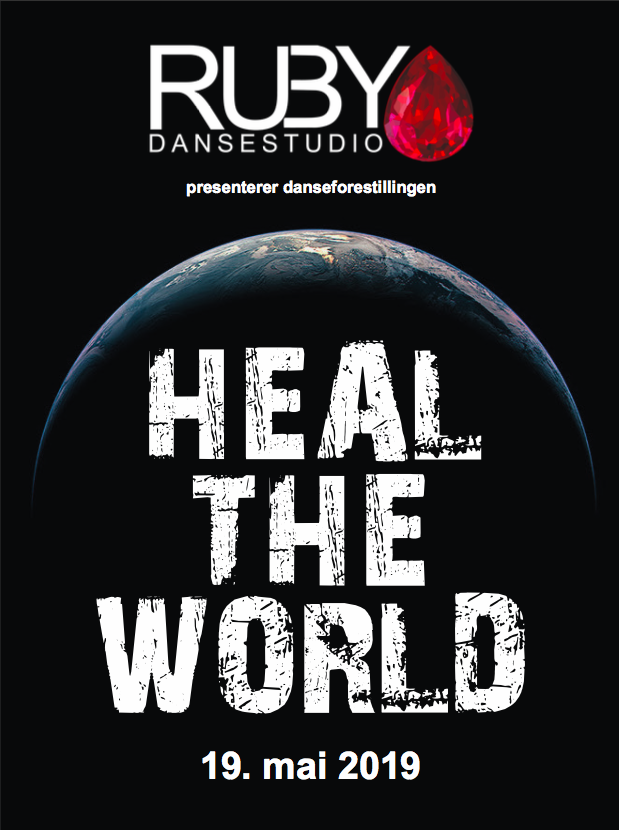 Heal the world 2019, plakat