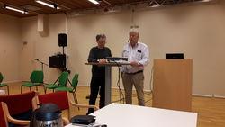 0404 LHL v Svein Grønsund og Børre Nielsen, leder i LHL