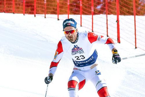 Hans Christer Holund var best i Janteloppet 2019 ved Hafjell Mosetertoppen. Foto: Daniel Tengs/Red Bull.