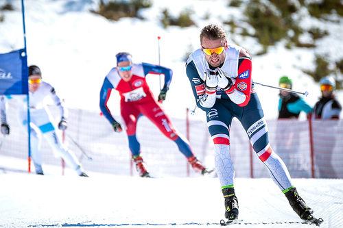 Petter Northug i Janteloppet 2019. Foto: Daniel Tengs/Red Bull.