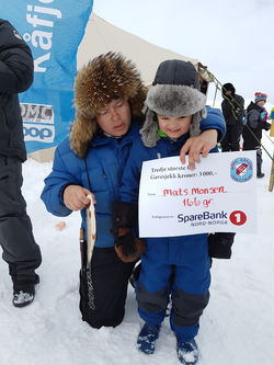 3.premie Mats Monsen