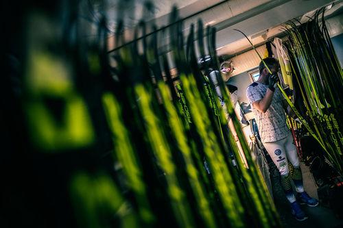 Med utfasingen av fluorprodukter får gutta i smøreboden nye utfordringer å forholde seg til. Foto: Modica/NordicFocus.