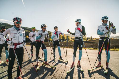 Team Norconsult på samling ved Norefjell. Foto: Ådne Birkeland.