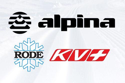 Logoer for Alpina, Rode og KV+.