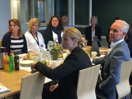 Statsråd Jan Tore Sanner besøker Bø