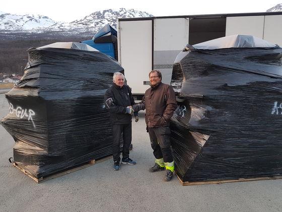 Grillhyttene levert fra lager til IKIL