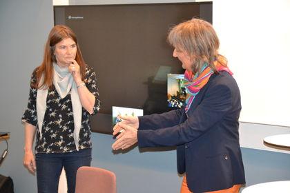 Tove Falck t.v. og Ingrid Lund (Foto: FUG)