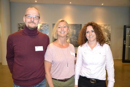 Yngvar Natland, Lou Cathrin Norreen og Elin Refsland
