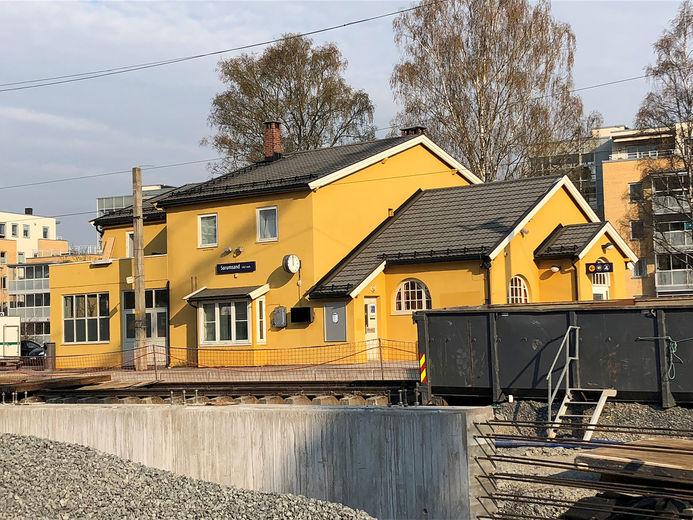 Sørumsand stasjon utbygging