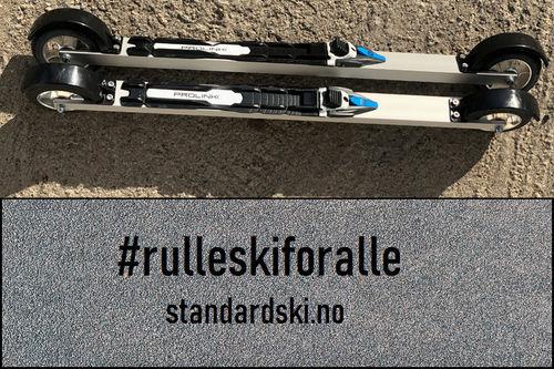 Standard SKATE fra Standardski.no. Den norske produsenten vil tilby rimelige rulleski av topp kvalitet.