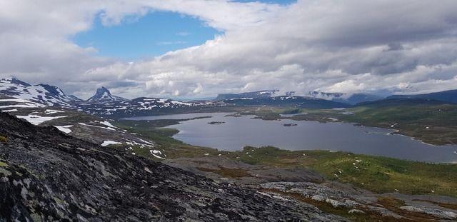 Utsikt fra Grønlihågen