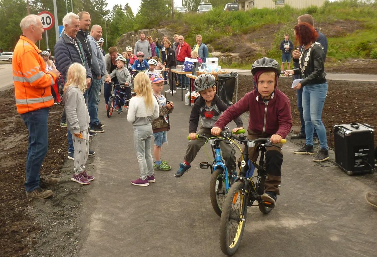 snorklipp - barn sykler
