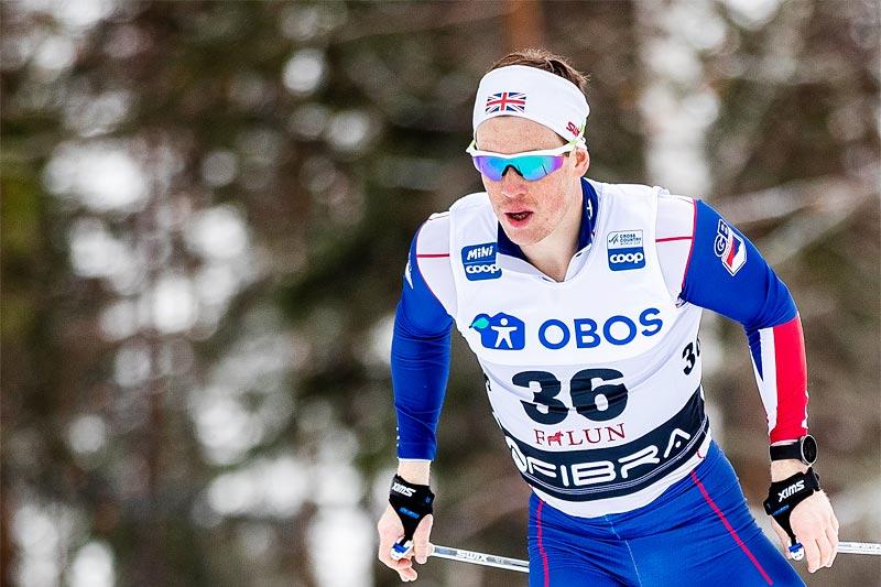 Andrew Musgrave. Foto: Modica/NordicFocus.