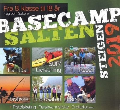 Plakat Basecamp Salten 2019