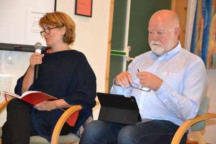 Gøril B. Lyngstad t.v. om skolemiljø