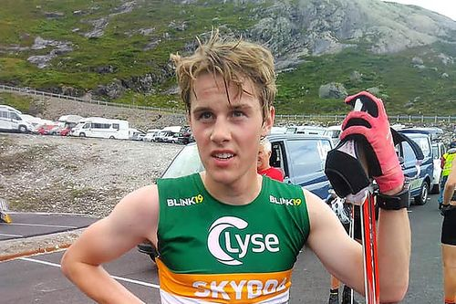 Jan Christian Kjærnli i Lysebotn Opp 2019. Foto: Privat.