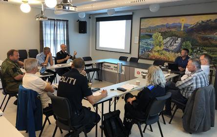 Beredskapsråd kommunalt etablering 2019