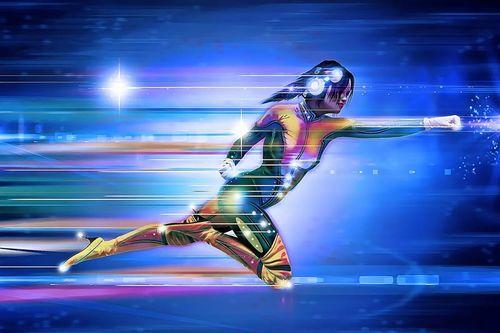 Du trenger ikke være superkvinne eller supermann for å få flere parallelle effekter av treningsøkter. Foto: Creative Commons/Pixabay.com.