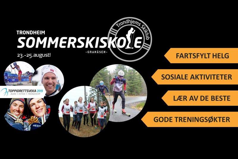 Trondheim Sommerskiskole 2019.
