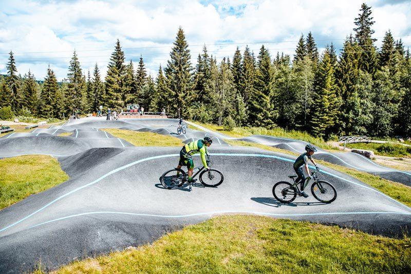 Etter planen skal Trysil investere ytterligere 3 millioner kroner til i prosjektet i løpet av neste år. Da har man totalt investert 25 millioner kroner i sykkelutvikling. Foto: Andreas Fausko / Trysil.