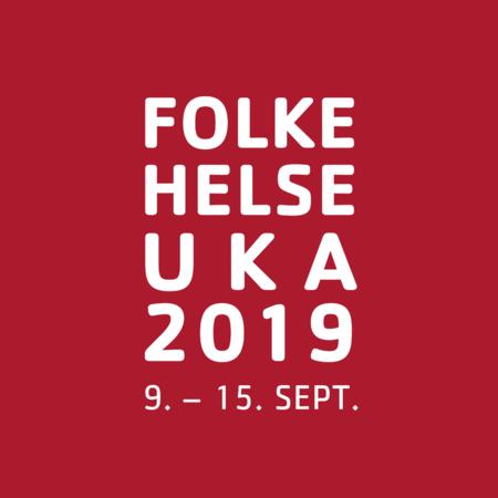Logo folkehelseuka 2019