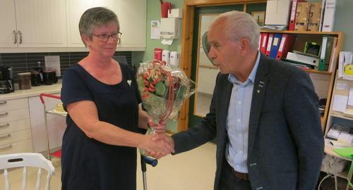 blomst fra ordfører
