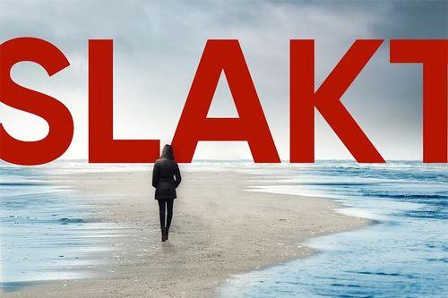 Utsnitt av omslaget til boka Slakt av Espen Skjerven. Utgitt på forlaget Pitch.