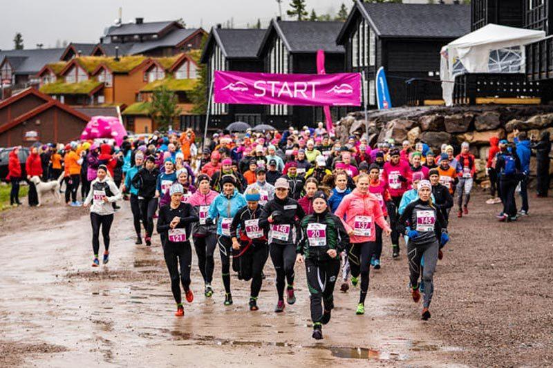 4386 deltaker på Trysilrypa 2019, mange av dem stiller også til start i Trysilrypa Terrengløp over henholdsvis 6 og 13 km. Foto: Jonas Sjögren / Trysil.