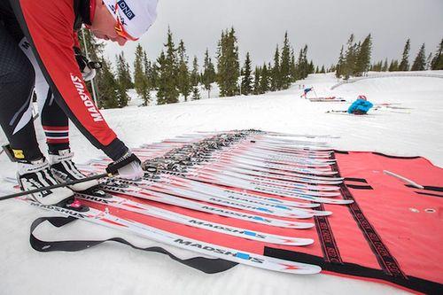 Peter Blom - Testing Sjusjøen. Foto: Stefano Zatta / Madshus.