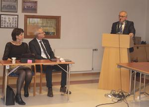Bjørns tale til den nye ordføreren, Svein Arne Haugen